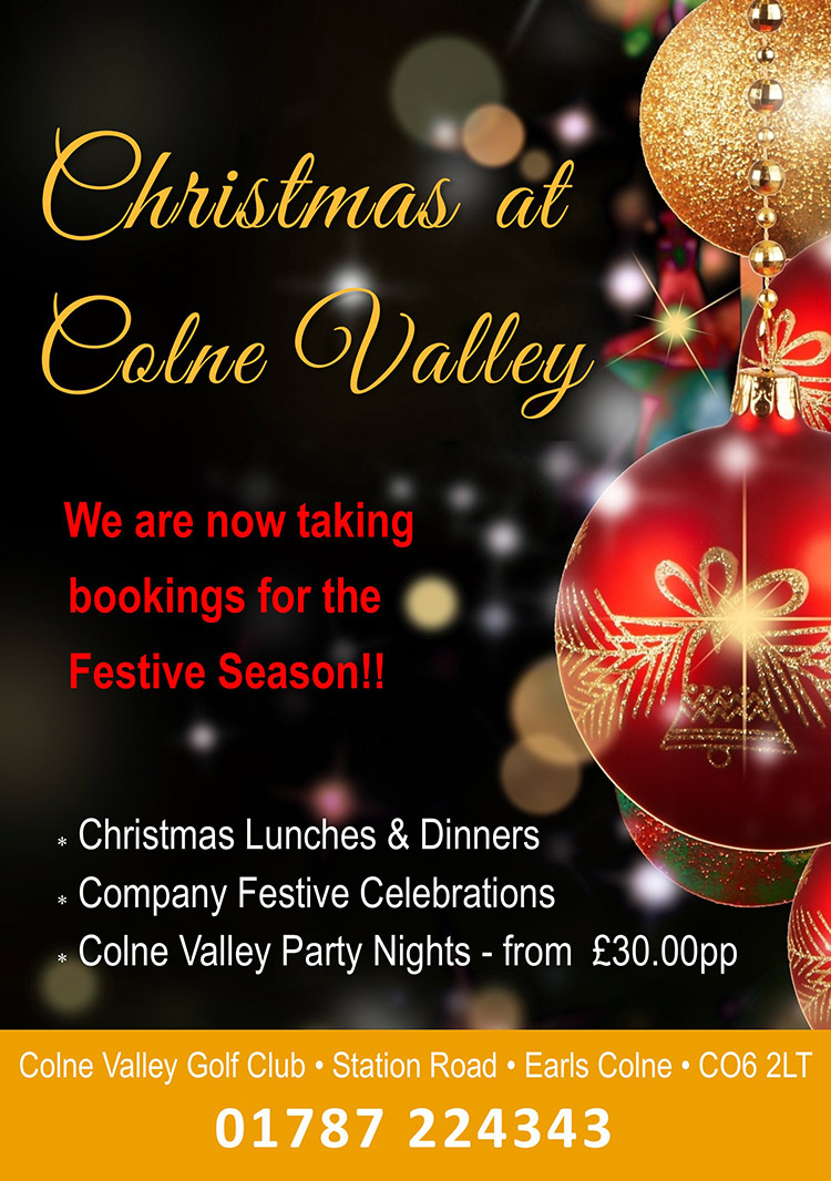 Christmas at Colne Valley Golf Club 2017