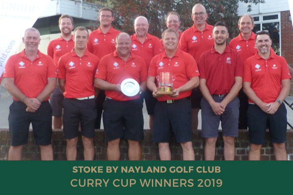 Stoke By Nayland - Curry Cup Winners 2019