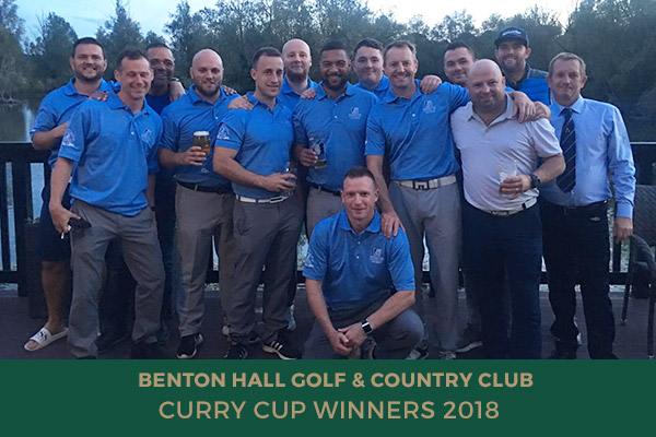Benton Hall - Curry Cup Winners 2018