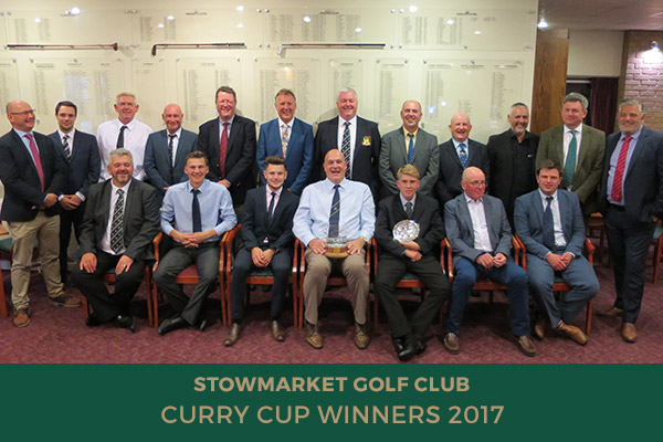 Curry Cup Winners 2017 - Stowmarket