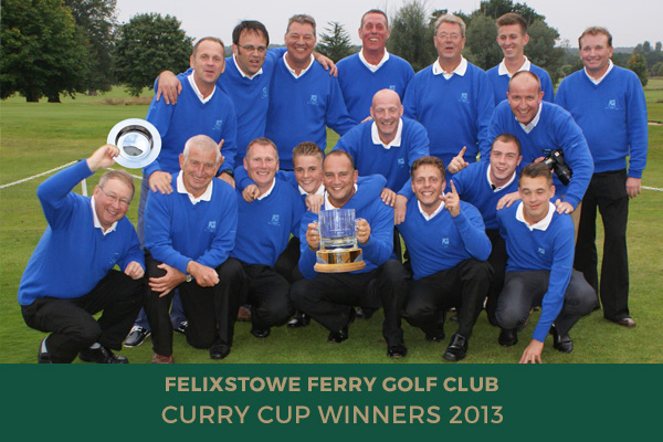 Colne Valley Golf Club - Curry Cup Winners 2013