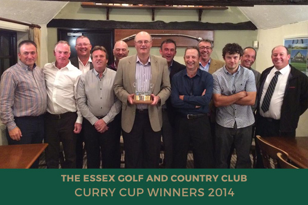 Colne Valley Golf Club - Curry Cup Winners 2014