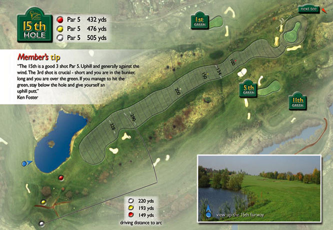 Colne Valley Golf Club, Earls Colne - 15th Hole