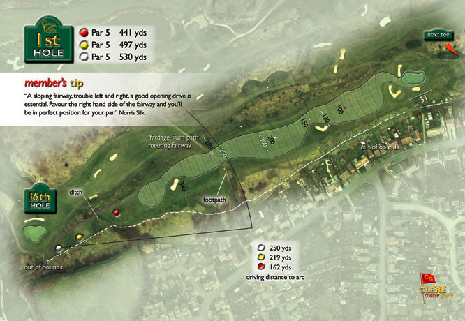 Colne Valley Golf Club, Earls Colne - 1st Hole