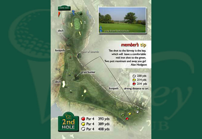 Colne Valley Golf Club, Earls Colne - 2nd Hole