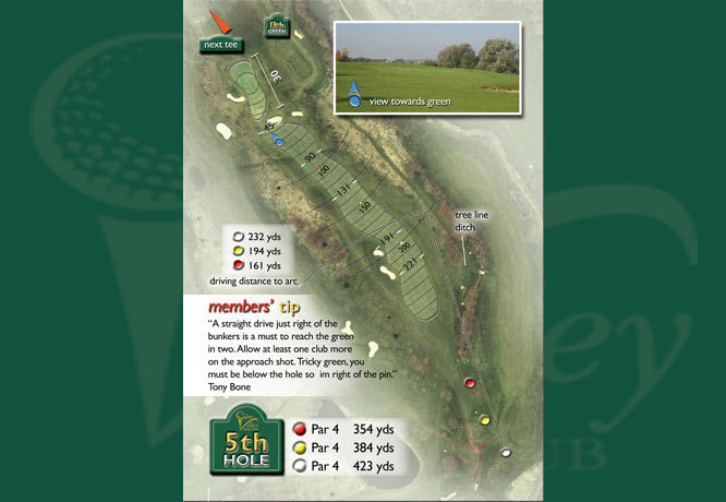 Colne Valley Golf Club, Earls Colne - 5th Hole