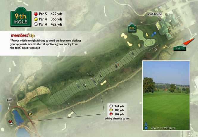Colne Valley Golf Club, Earls Colne - 9th Hole