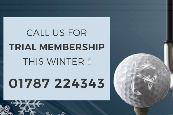 Trial Golf Membership this Winter at Colne Valley Golf Club