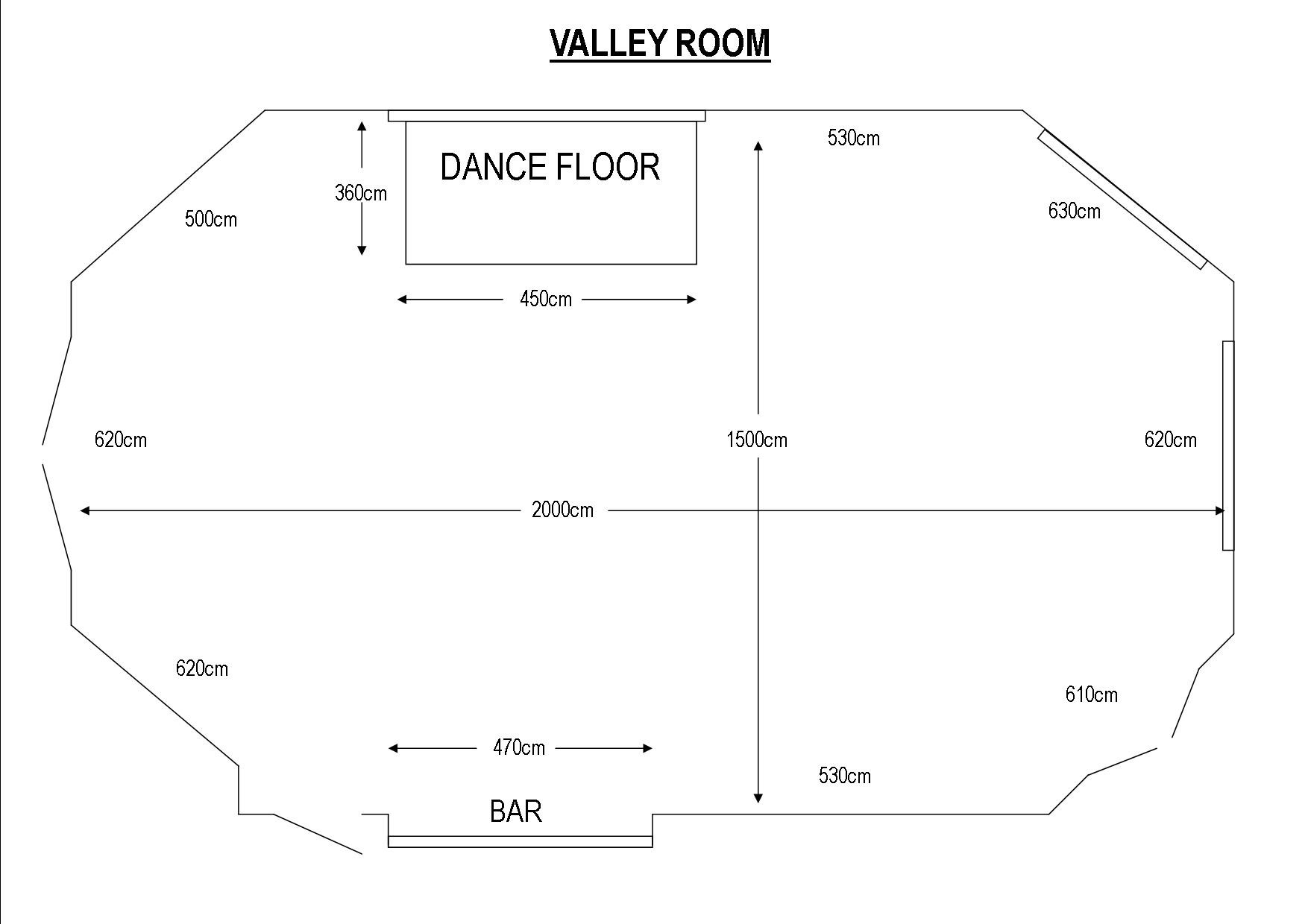 Valley Room - Colne Valley Golf Club