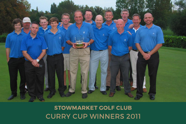 Colne Valley Golf Club - Curry Cup Winners 2011