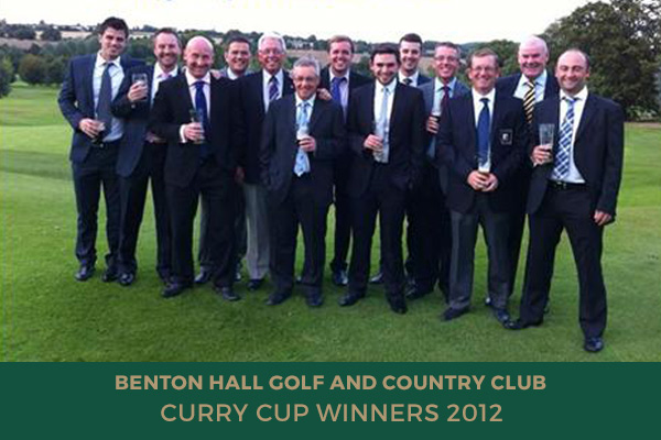 Colne Valley Golf Club - Curry Cup Winners 2012
