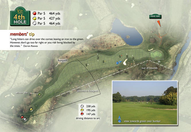 Colne Valley Golf Club, Earls Colne - 4th Hole