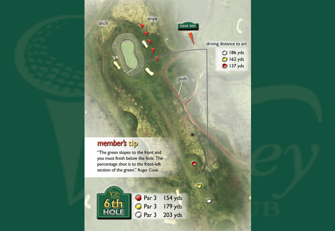 Colne Valley Golf Club, Earls Colne - 6th Hole