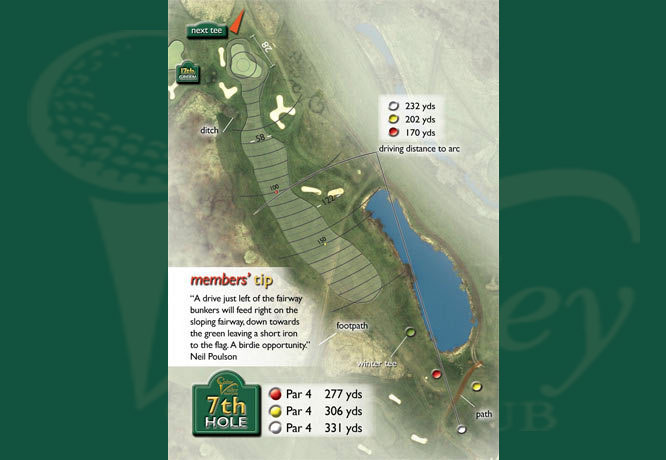 Colne Valley Golf Club, Earls Colne - 7th Hole