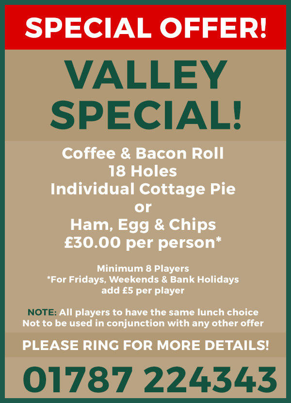 Valley Special - Colne Valley Golf Club