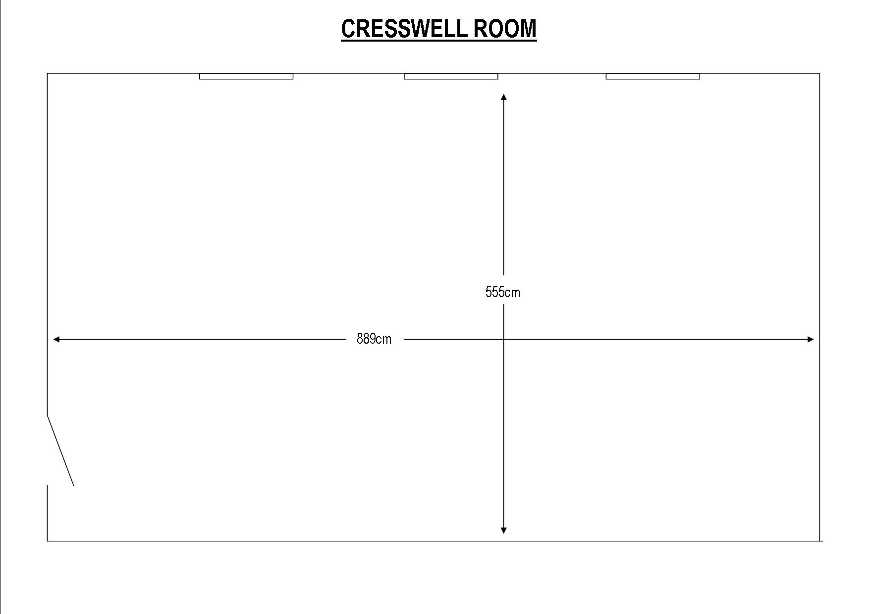 Cresswell Room at Colne Valley Golf Club
